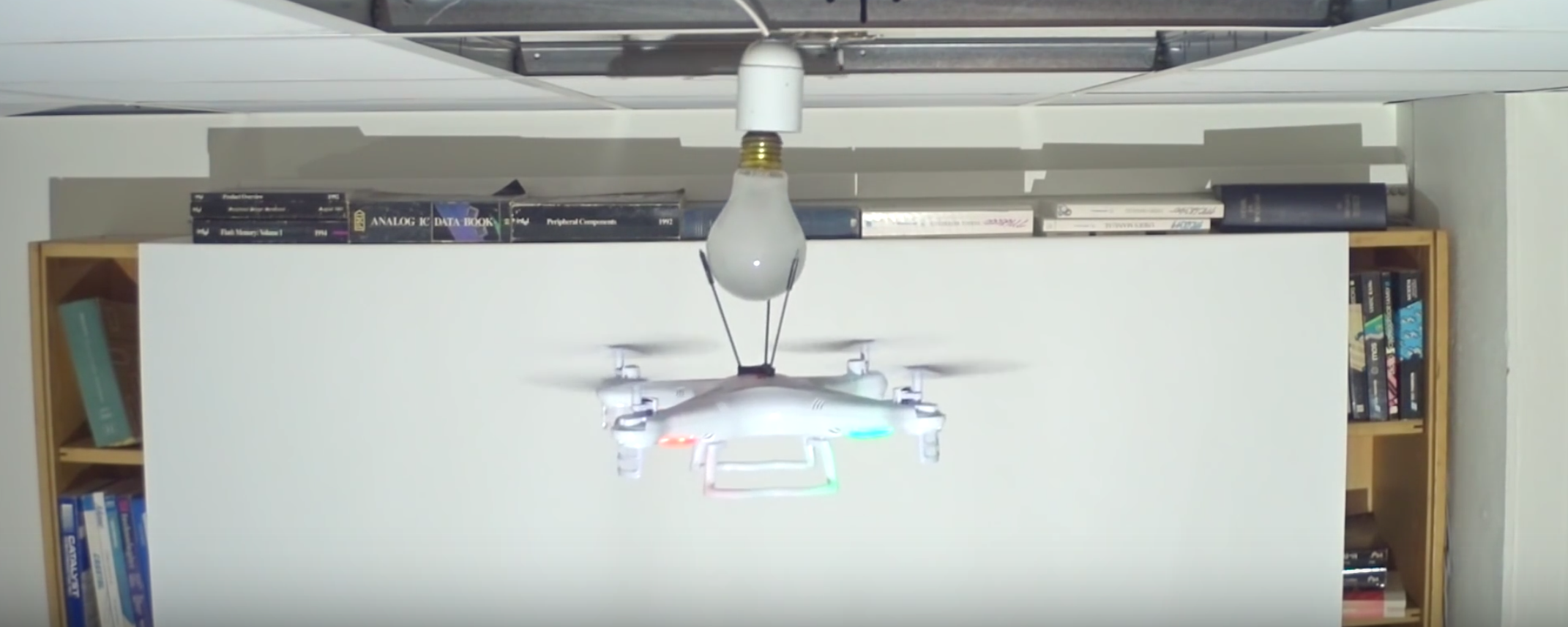 How Many Drones Does it Take to Change a Lightbulb?