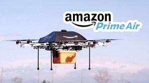Amazon Shows off Delivery Drones at SXSW