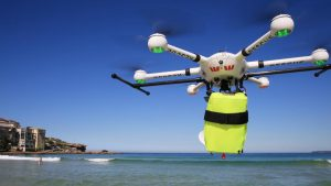 Chinese Drone Company Launches Shark Patrol Down Under