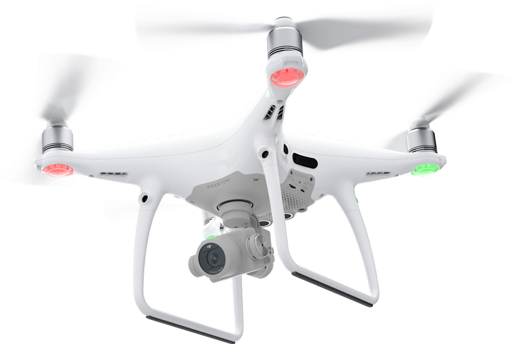 The DJI Phantom 4 Pro, as DJI launches the Inspire 2 on the same day