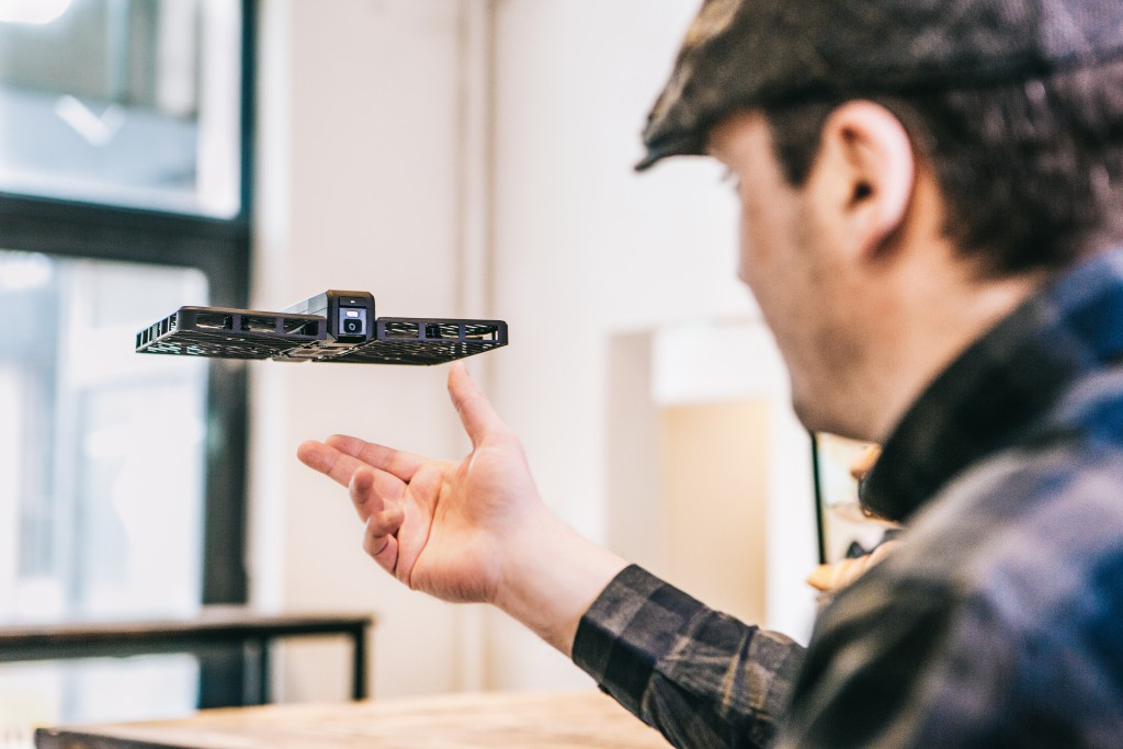 Selfie Drones Go Mainstream as Hover Camera Hits Apple Store…