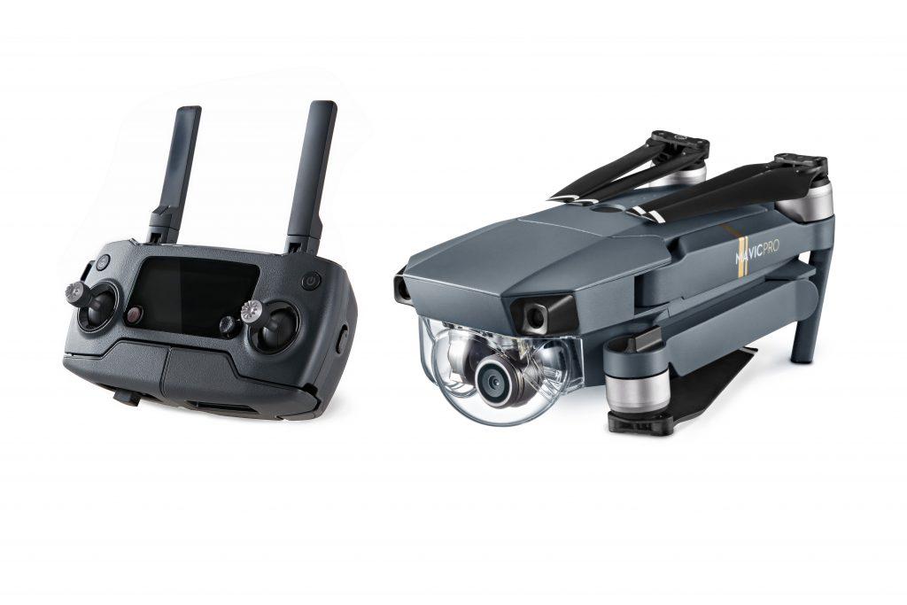 DJI mavic portable drone delayed