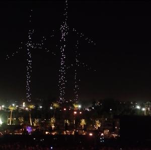 Intel's Shooting Star Drones Light Up Coachella