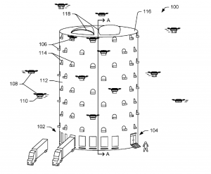 Amazon Patent Shows Potential Drone Delivery Infrastructure