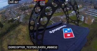 dominos drone delivery