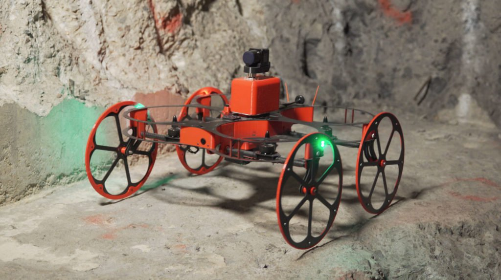 inkonova: the tilt ranger drone for underground mining