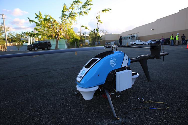 FAA Approves AT&T Drones to Restore Cell Services in Puerto …
