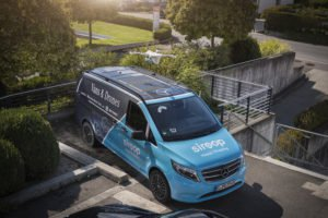 Mercedes Drone Partnership Makes 100 Deliveries