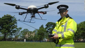 Police Drones Hunt Suspects and Save the Planet