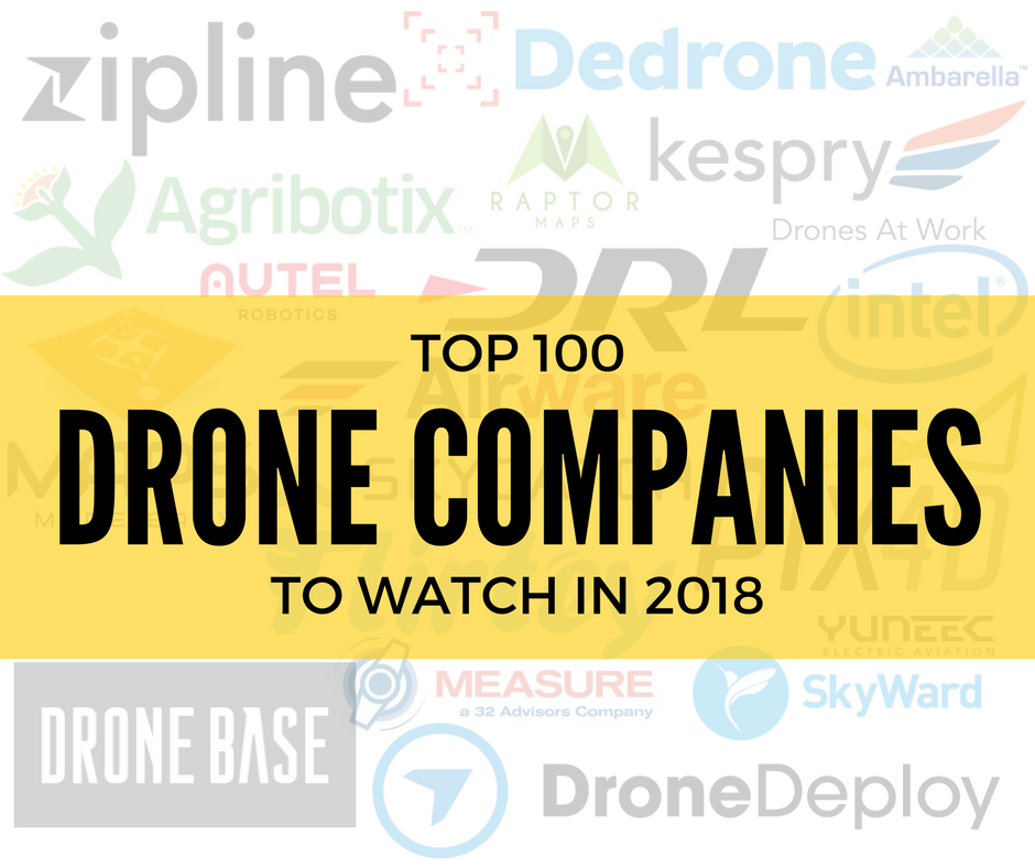 The Top 100 Drone Companies to Watch: Our List of the Top Co…