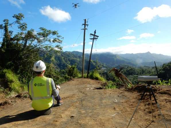 How Drones are Restoring Power in Puerto Rico