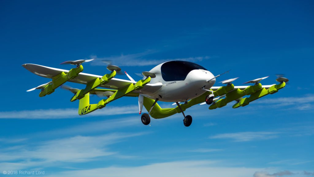 Cora, Kitty Hawk's Air Taxi Takes Off in New Zealand