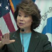 Transportation Secretary Elaine Chao Addresses UAS Symposium…