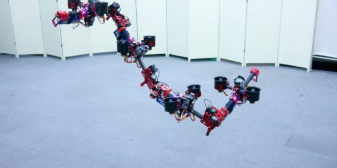 Tokyo Researchers' Dragon Drone Can Shape-shift on the Fly
