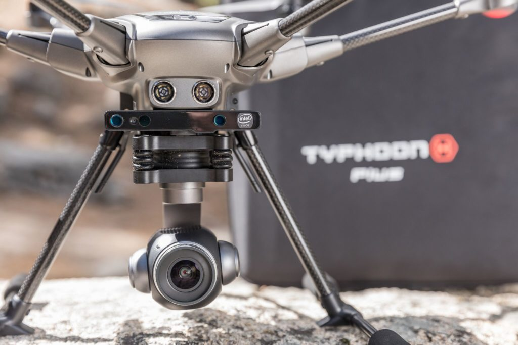 typhoon h plus with intel real sense