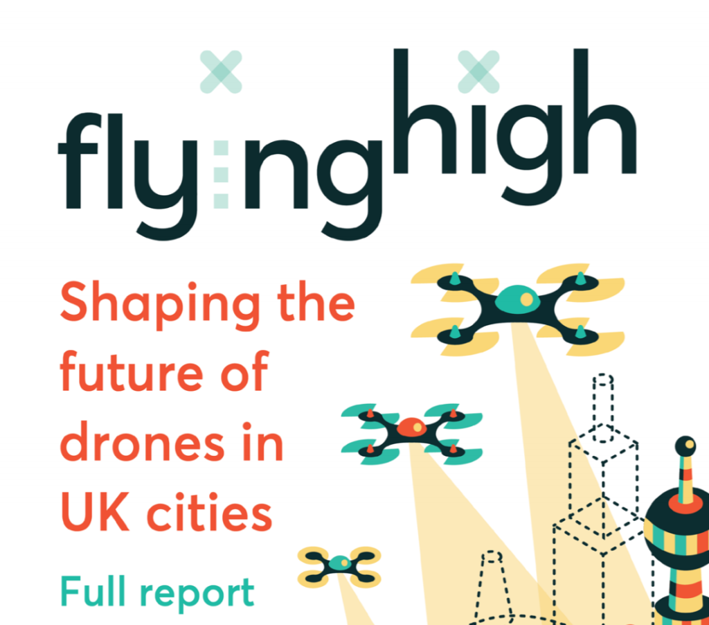flying high uk government drone report