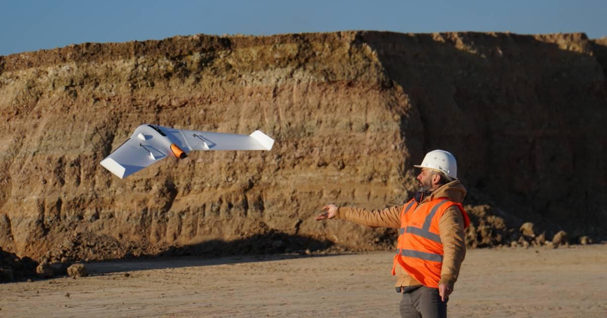 Professional Mapping UAV Delair UX11