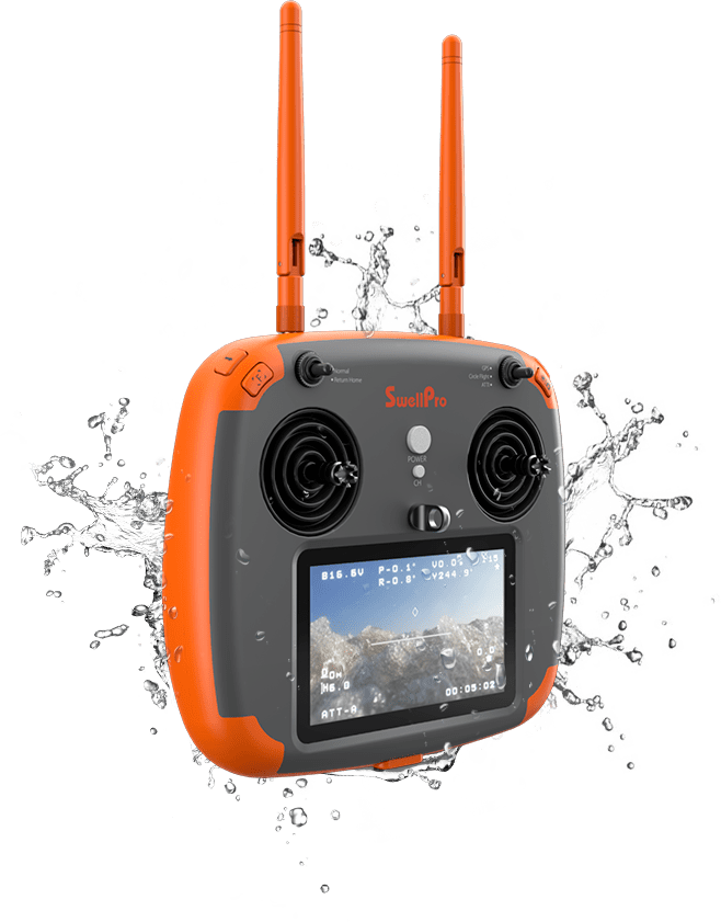 spry waterproof remote control