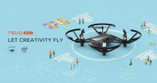 Ryze Tech Launches New Programmable Tello EDU Drone