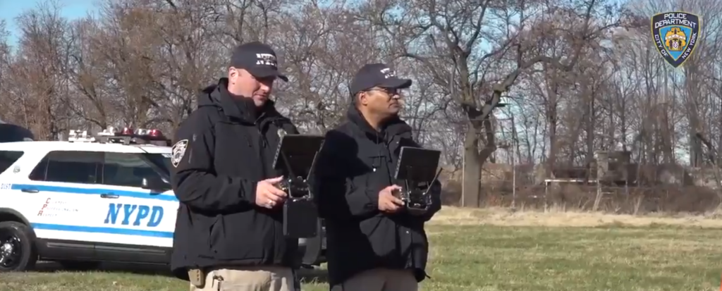 NYPD drone program dji