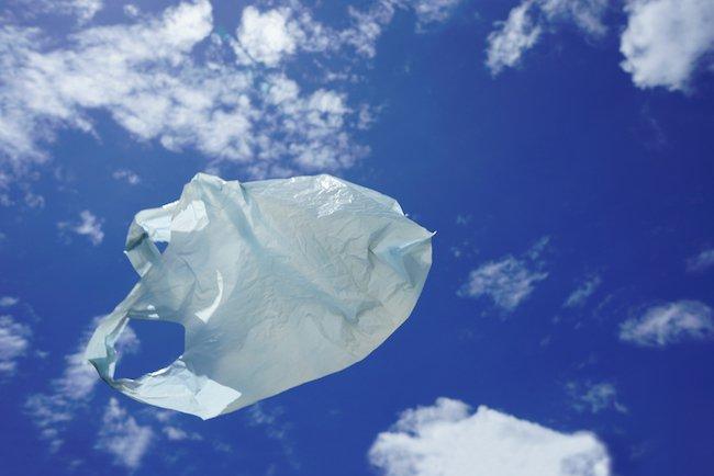 flying plastic bag mistaken for drone