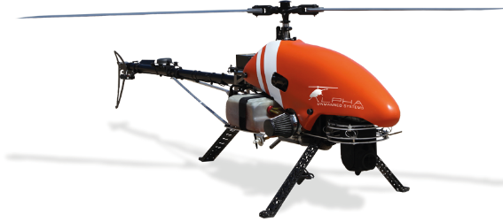 alpha 800 uav working with inmarsat on drone delivery