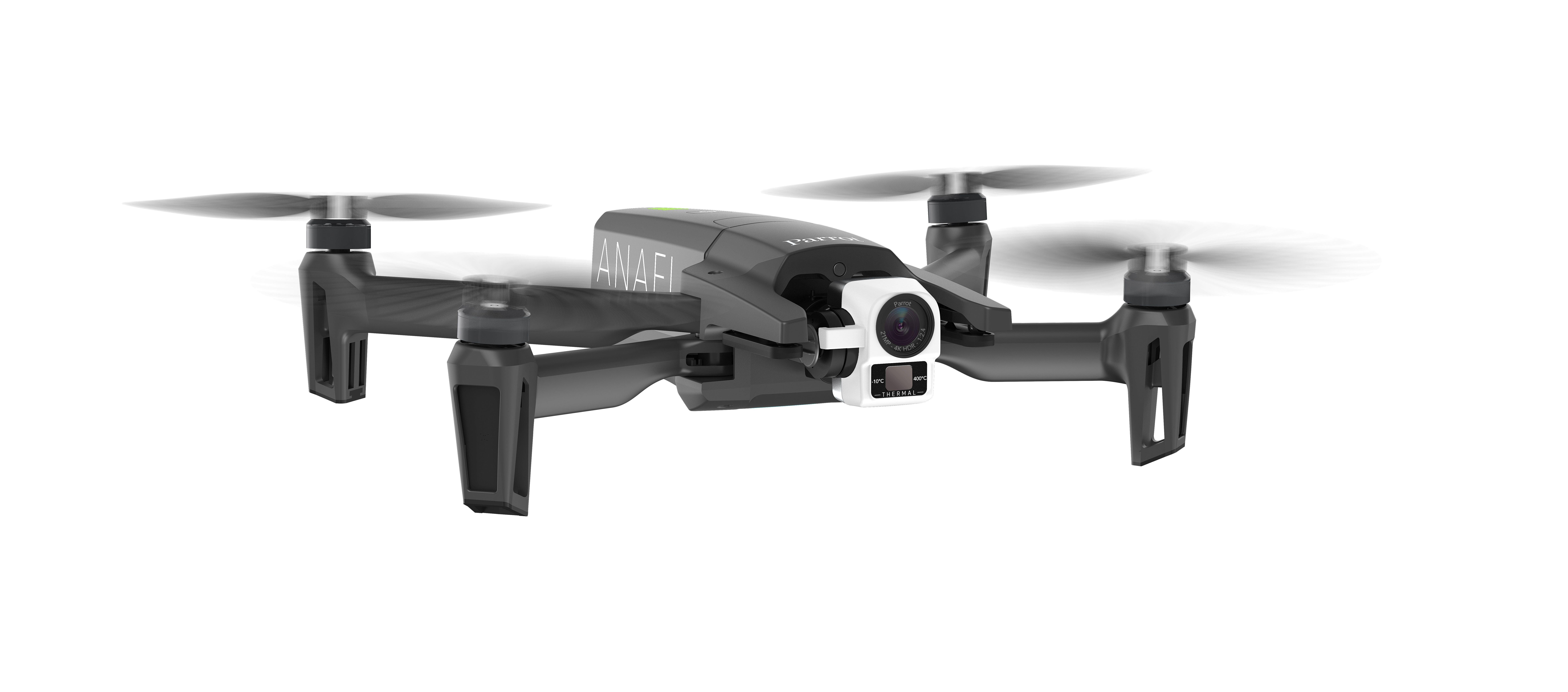 the anafi thermal drone