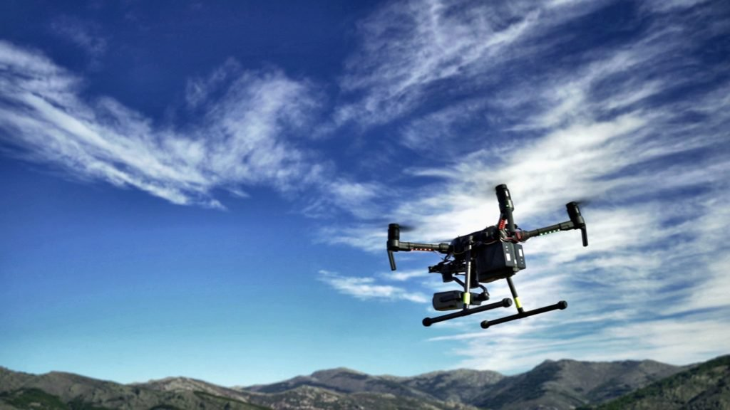 telefonica drone system to support firefighters