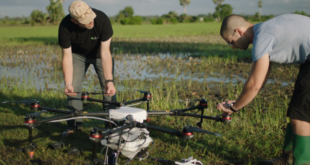 DJI's Agras Drones are Being Deployed in the Fight Against M…