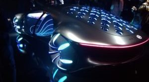 Car Porn From CES: Mercedes Benz Meets Avatar