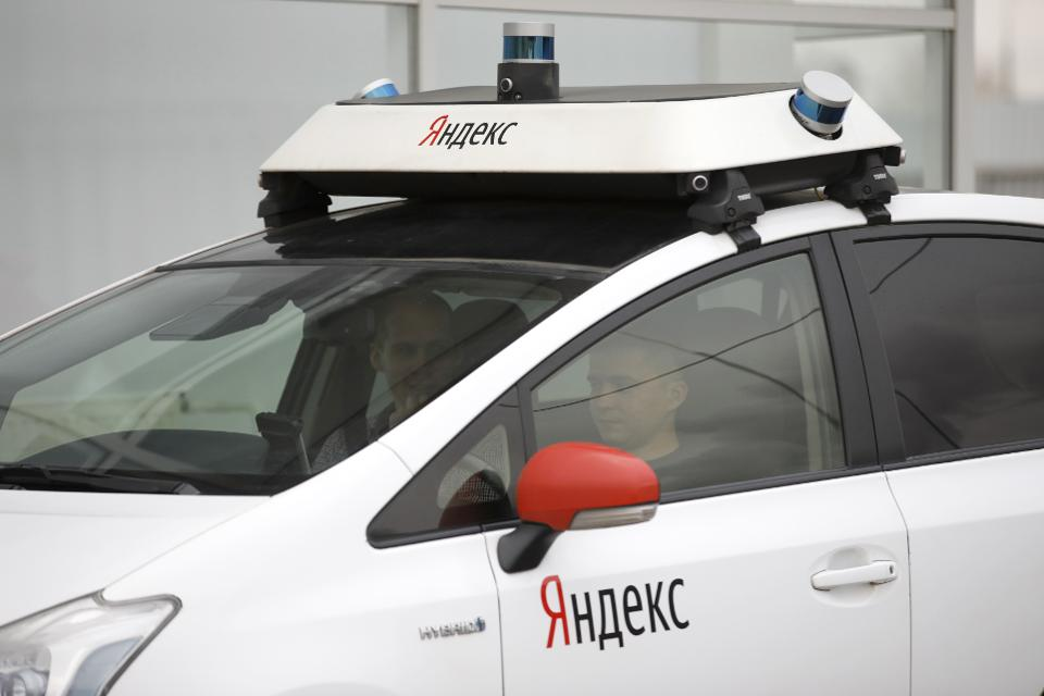 Yandex driverless car undergoes testing in Moscow