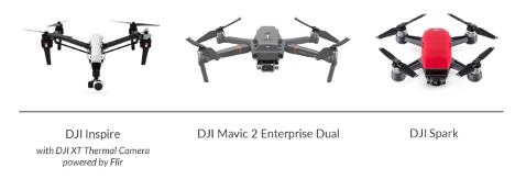 law enforcement drones