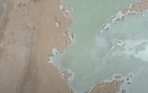 Industrial Application Gathers Footage of Dead Sea