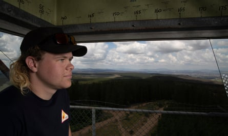 Nick Dutton believes detection technology will one day render fire towers unnecessary.